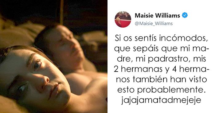 8 Veces que Maisie Williams nos hizo reír