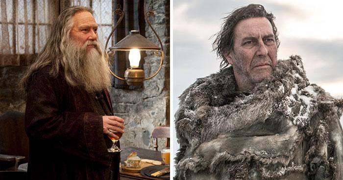 14 Actores que interpretaron personajes en ambas series de Juego de Tronos y Harry Potter