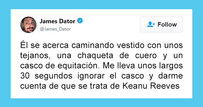 Alguien comparte cómo Keanu Reeves compró un helado solo para darle un autógrafo y la gente se enamora de él aún más