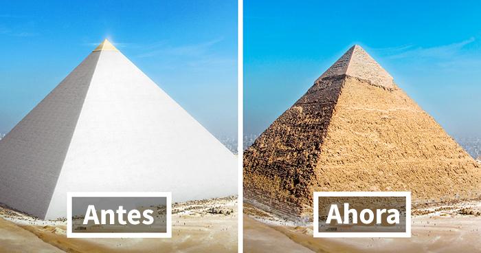Este es el aspecto que tenían las 7 Maravillas del mundo antiguo en su plenitud