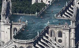 9 propuestas ridículas para la restauración de Notre Dame
