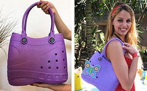 Los bolsos inspirados en Crocs ya están aquí y la gente quiere explicaciones