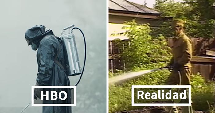Comparaciones del auténtico Chernobyl VS la versión de HBO (20 imágenes)