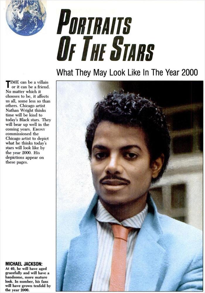 """""""Retratos De Las Estrellas: El Aspecto Que Tendrían En El Año 2000"""""""