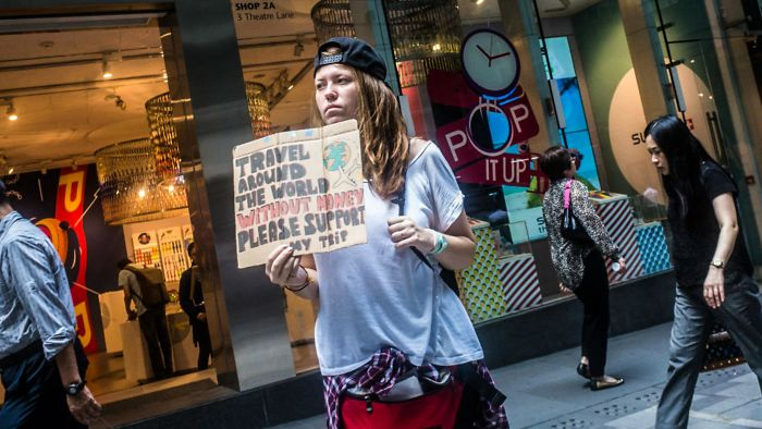 Viajo Por El Mundo Sin Dinero, Por Favor, Financia Mi Viaje (En Hong Kong)