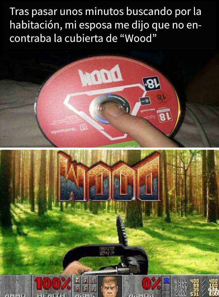 Wood, El Videojuego Para Leñadores
