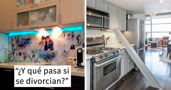 La gente comparte los peores diseños de cocina que han ...