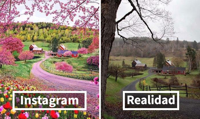 """""""Instagram VS Realidad"""" expone la verdad sobre esas fotos irrealmente """"perfectas"""" (30 nuevas imágenes)"""