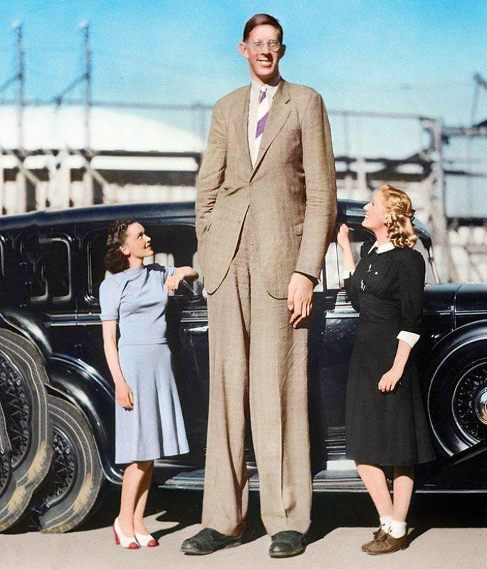 El Hombre Más Alto Del Mundo, Medido Por Última Vez En 1940, Llegó A Los 2'72