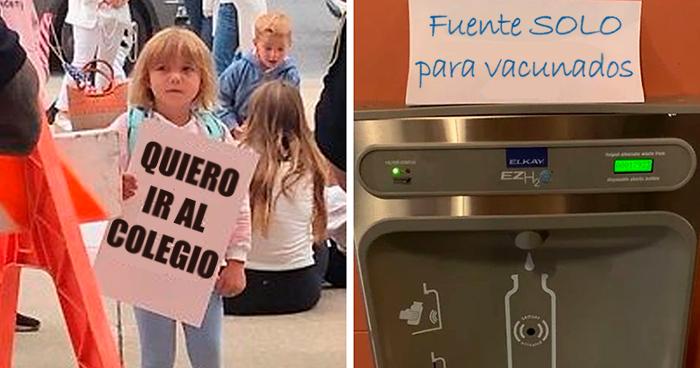 Nueva York prohibe que los niños sin vacunar vayan a clase, y sus padres antivacunas están furiosos