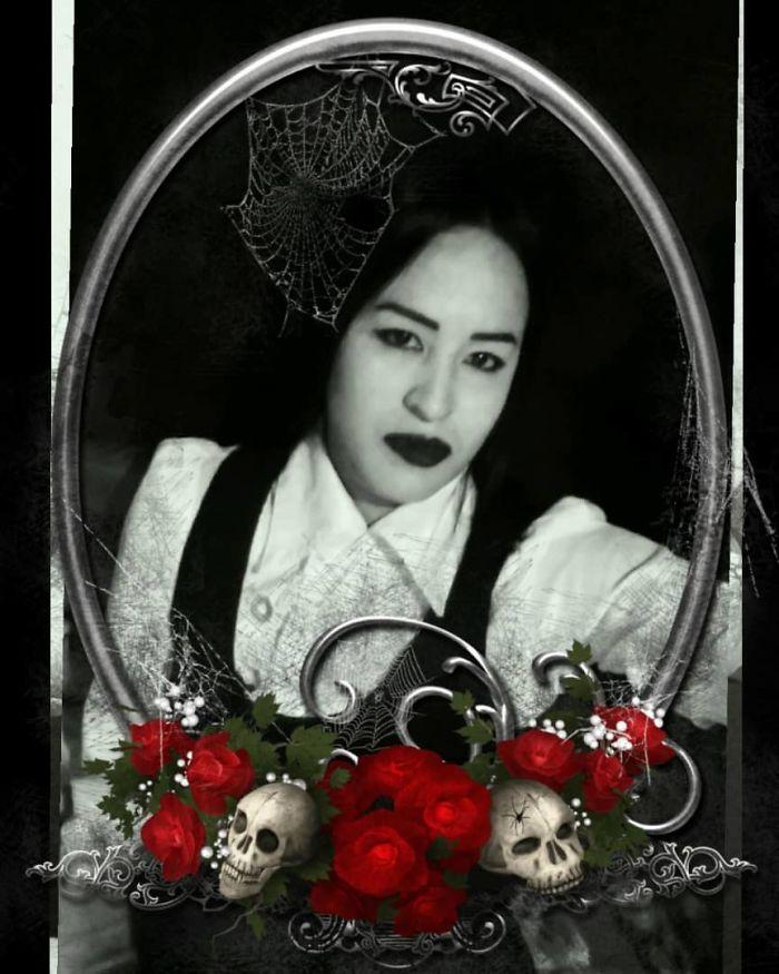 Sacando Mi Lado Oscuro ...gótica En Halloween