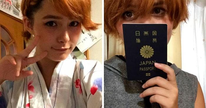 Acusa A Una Persona De Apropiación De La Cultura Japonesa Y Le Responde Con Unas Fotos De Su Pasaporte