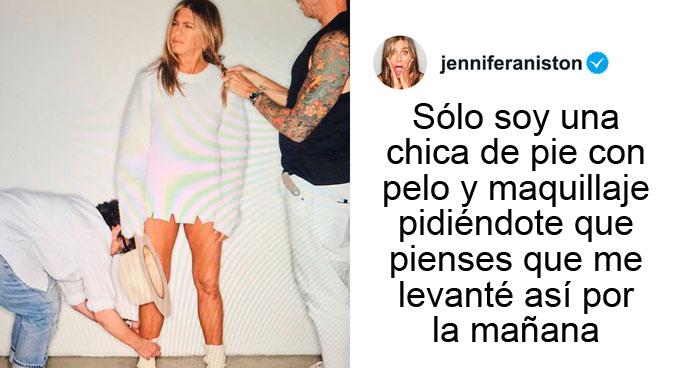 """Jennifer Aniston Explica Por Qué Tiene Tan Buen Aspecto, Y Su Publicación Recibe Más De 5 Millones De """"Me Gusta"""""""