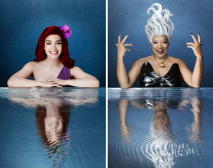 Retratos Oficiales De ¡La Sirenita En Directo! El Reparto Sale A Flote