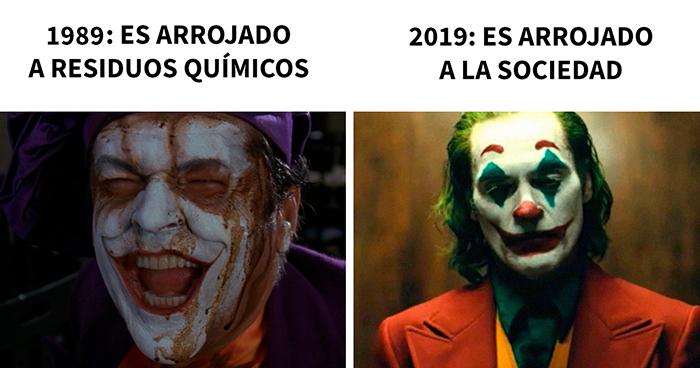 20 De los mejores memes reaccionando ante el estreno de la película del Joker