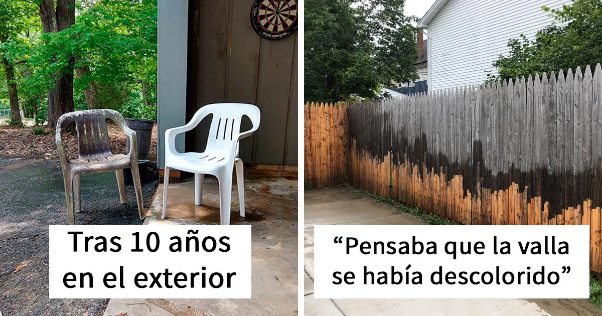 30 Objetos completamente transformados tras ser lavados a presión