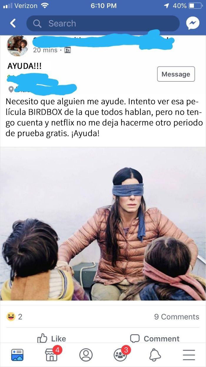 Pedigüeño Pidiendo Netflix