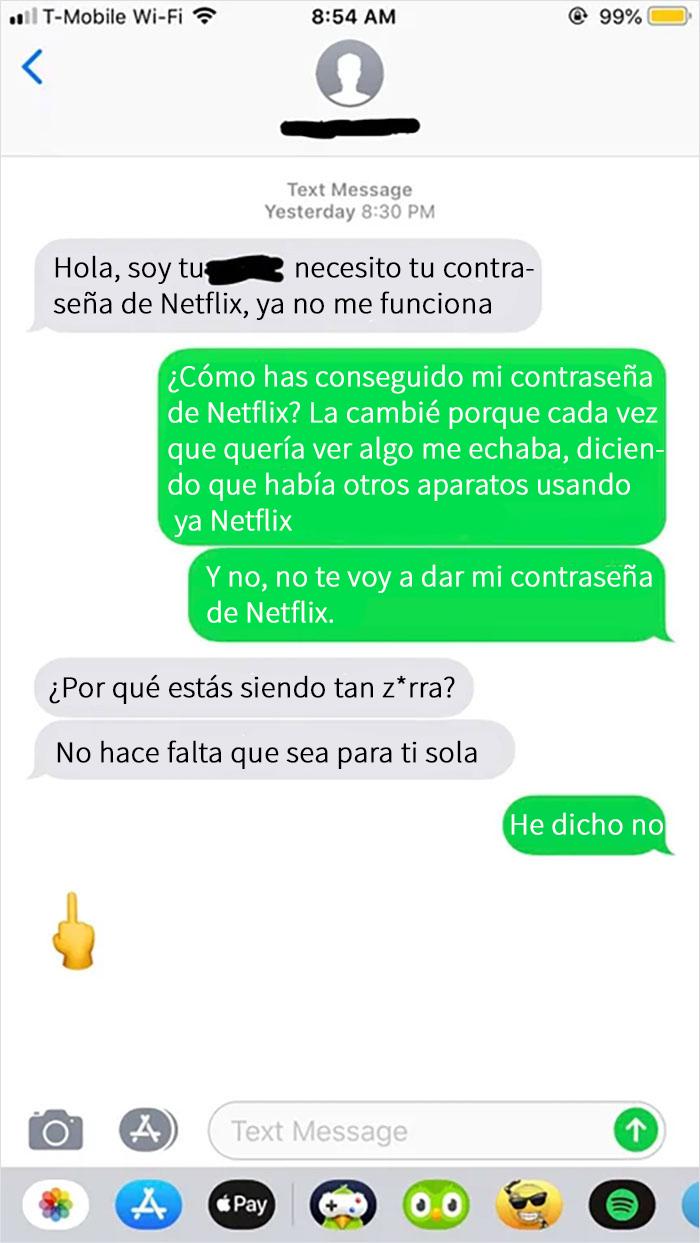 Mi Primo Malcriado Me Estaba Robando Netflix Y Cuando Cambié La Contraseña Me Pidió La Nueva