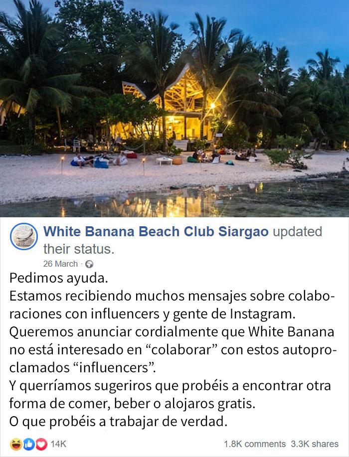 Este Club De Playa Hace Una Interesante Sugerencia
