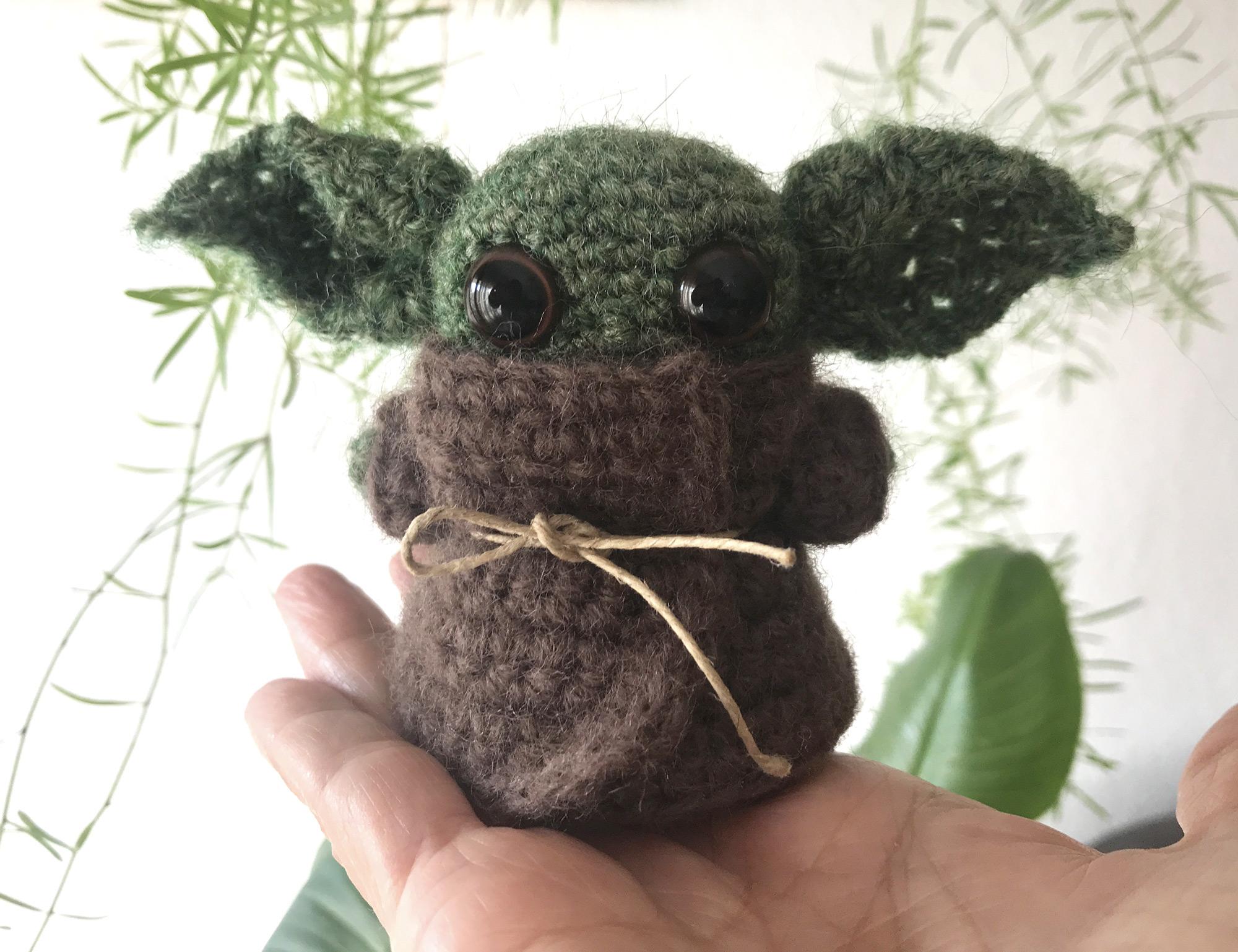 Adorables Baby Yoda Miniatura