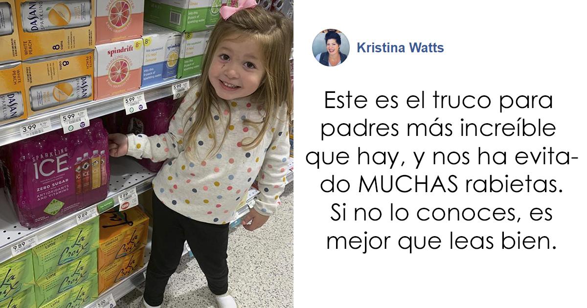 Esta madre comparte un truco navideño para que los niños dejen de pedir juguetes sin parar en las tiendas