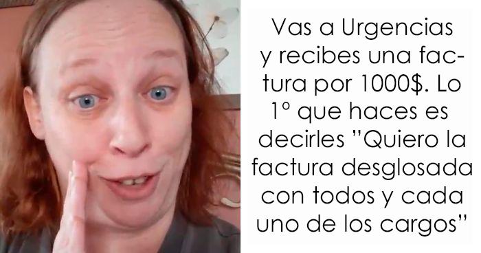 Esta mujer descubrió que las facturas del hospital se reducen si las desglosan, y la gente dice que funciona