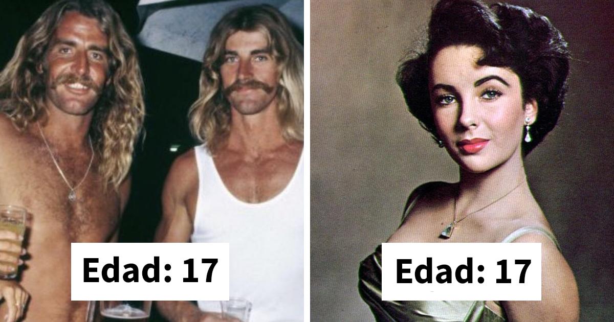 """La gente comparte fotos viejas para """"demostrar"""" que antes se envejecía más rápido"""