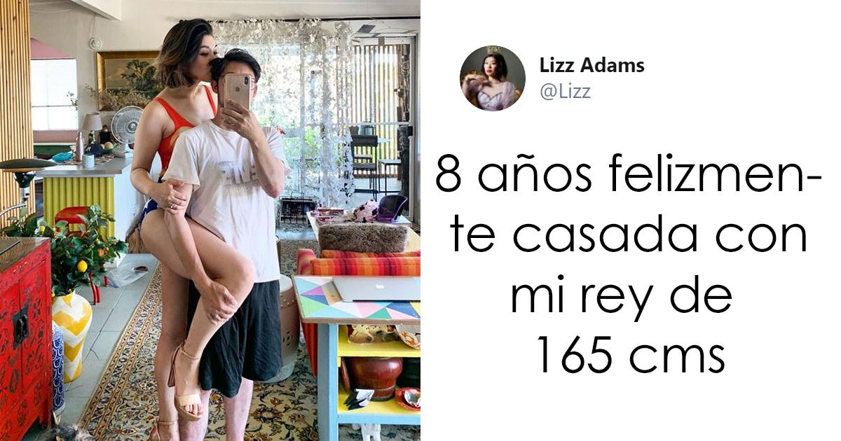 Estas mujeres saliendo con hombres más bajitos comparten sus fotos en un hilo viral