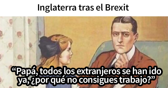 El Brexit ha tenido lugar y aquí tienes los 20 memes más divertidos al respecto