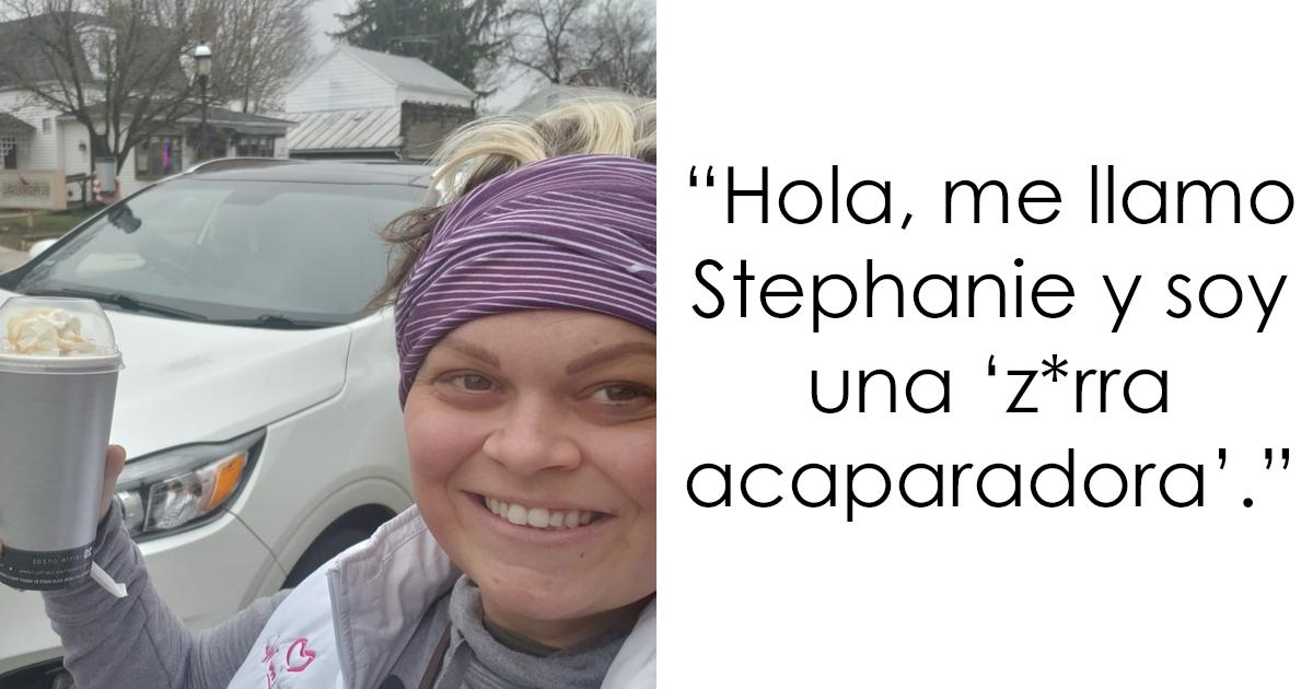 Esta mujer fue llamada acaparadora por gastar 1100$ en el supermercado, explica que está comprando para 6 familias