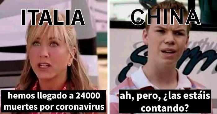 La gente no para de publicar bromas sobre el Coronavirus, y aquí tienes las mejores 20 de esta semana