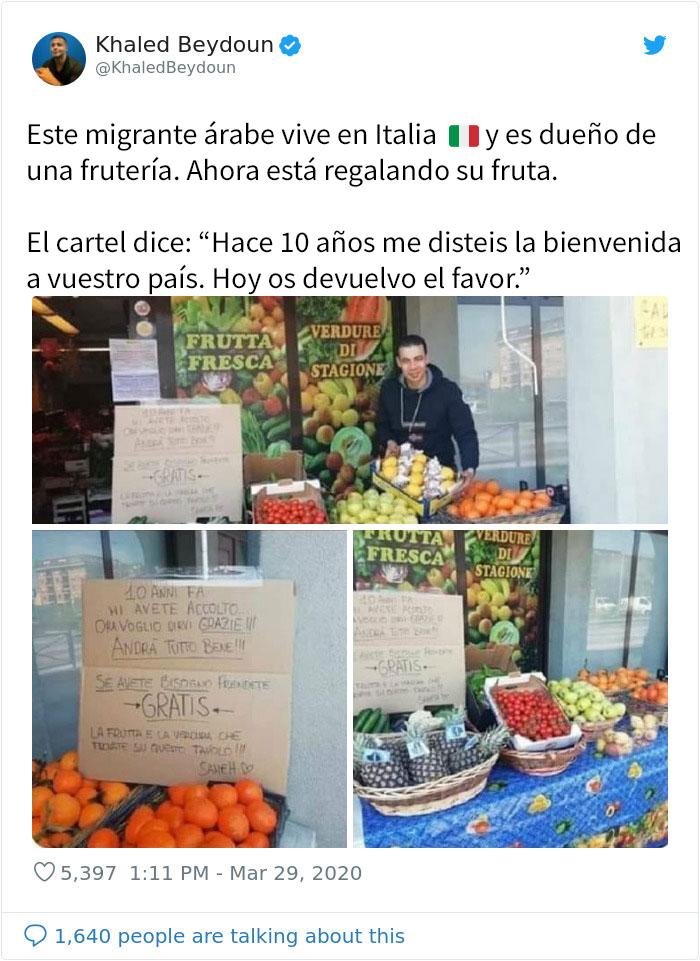 Fruta Y Verdura Gratis