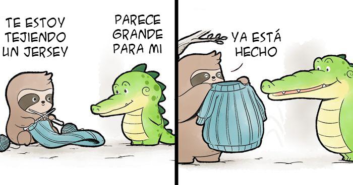 Mis 13 cómics sobre un aligator que muestran que todo el mundo es especial
