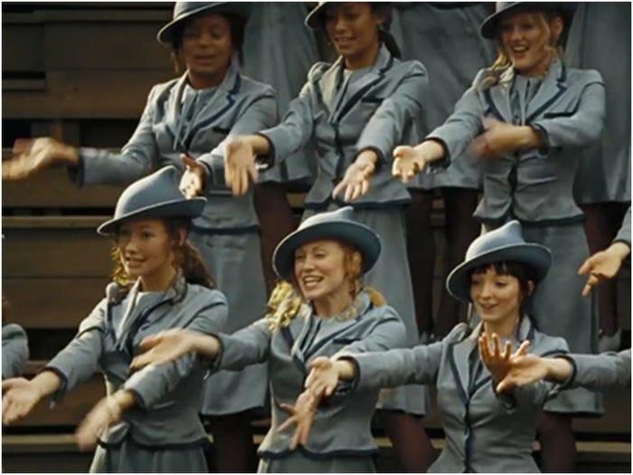 En El Cáliz De Fuego, Los Estudiantes De Beauxbatons Hacen Un Baile Muggle Muy Familiar: La Macarena