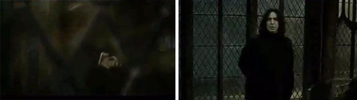 """Pequeño Detalle En La Escena De Su Muerte: Cuando Voldemort Le Pregunta A Quién Es Leal La Varita Antigua, Él Dice """"Obviamente, A Ti"""", Pero Ajusta Su Posición Y Se Dirige Hacia Donde Harry Se Oculta."""