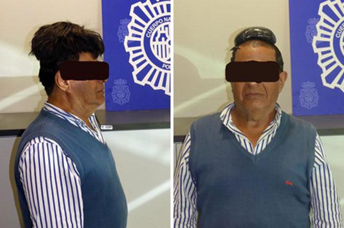 Este Hombre Intentó Pasar De Contrabando Un Kilo De Cocaína Bajo Su Peluquín En El Aeropuerto De Barcelona