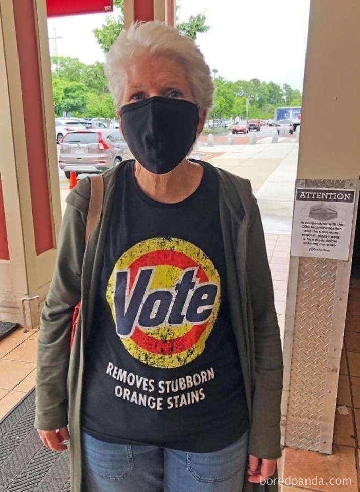 Votar Quita Esas Persistentes Manchas Naranjas