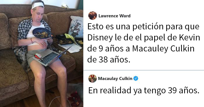 Puede que Macaulay Culkin sea una de las personas más divertidas de Twitter, y aquí tienes 20 tuits suyos para probarlo