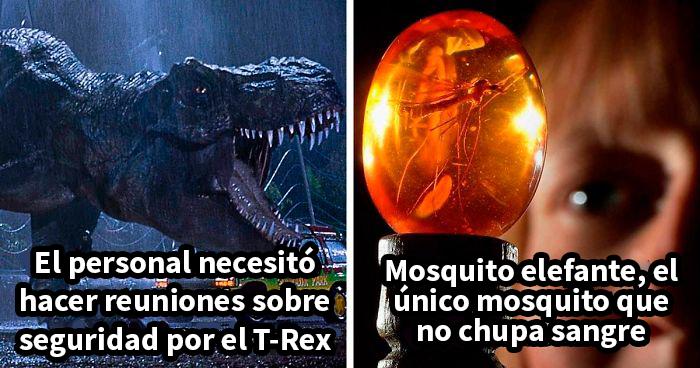 21 Datos poco conocidos y detalles ocultos sobre las películas de Parque Jurásico