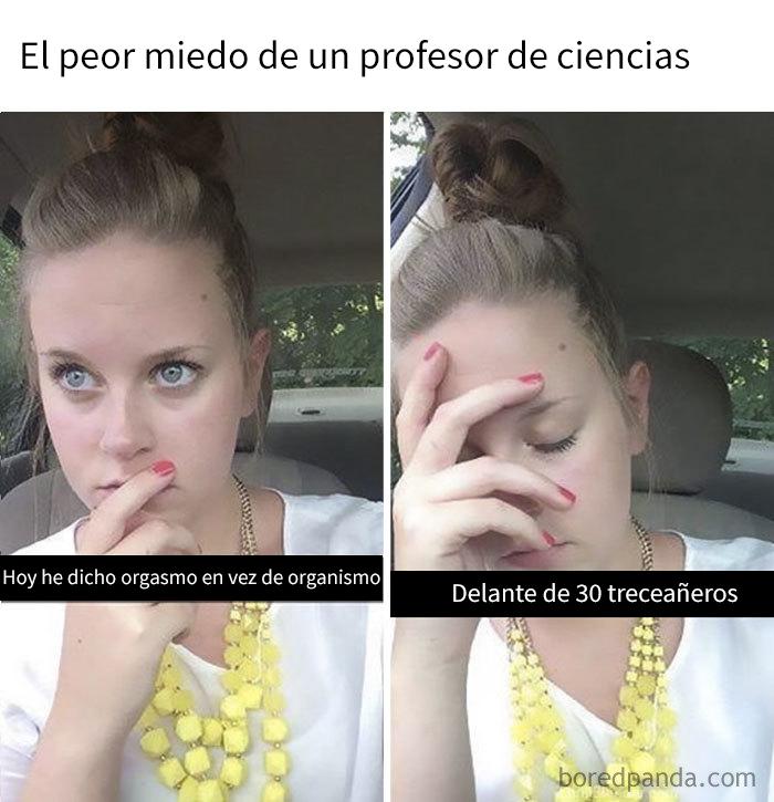 Profesora De Ciencias