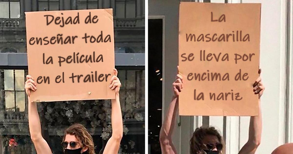 Este hombre sigue protestando contra molestas cosas cotidianas con divertidos carteles (30 fotos nuevas)