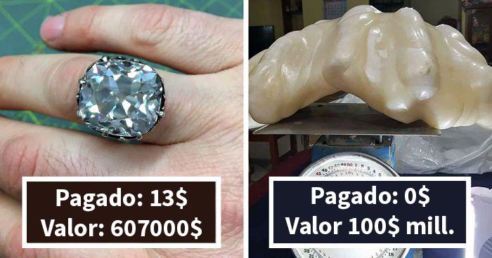 20 Momentos trascendentales en que la gente encontró objetos que valían una fortuna