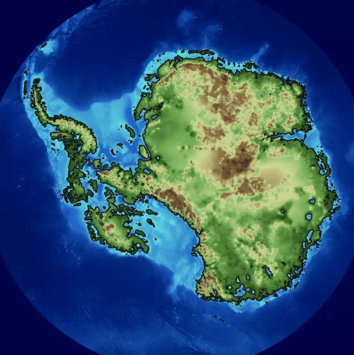 Así Es La Antártida Bajo El Hielo