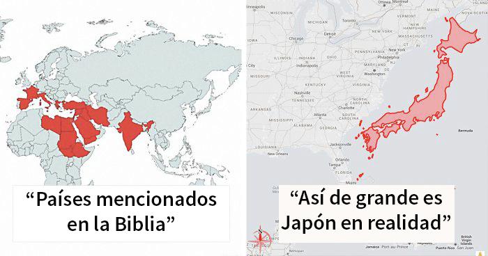 30 Mapas inusuales que quizá cambien tu perspectiva de las cosas