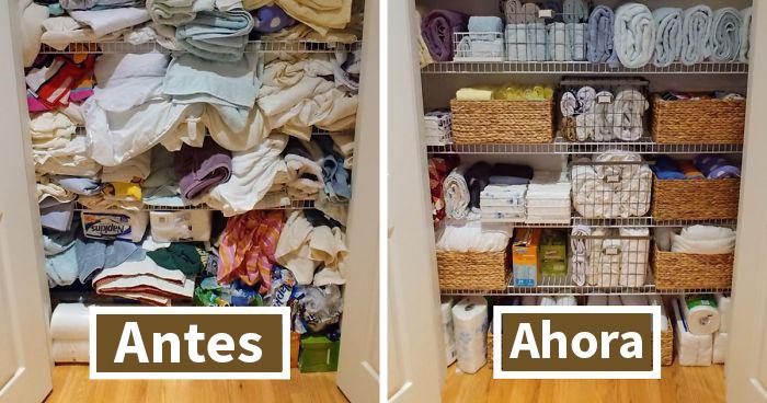 30 De los mejores trucos de personas que saben lo que hacen a la hora de organizar su hogar