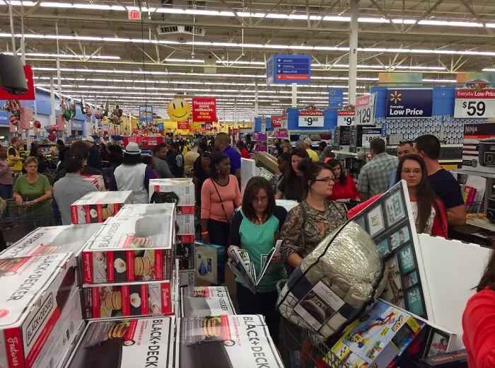 Black Friday Como Empleado En Walmart