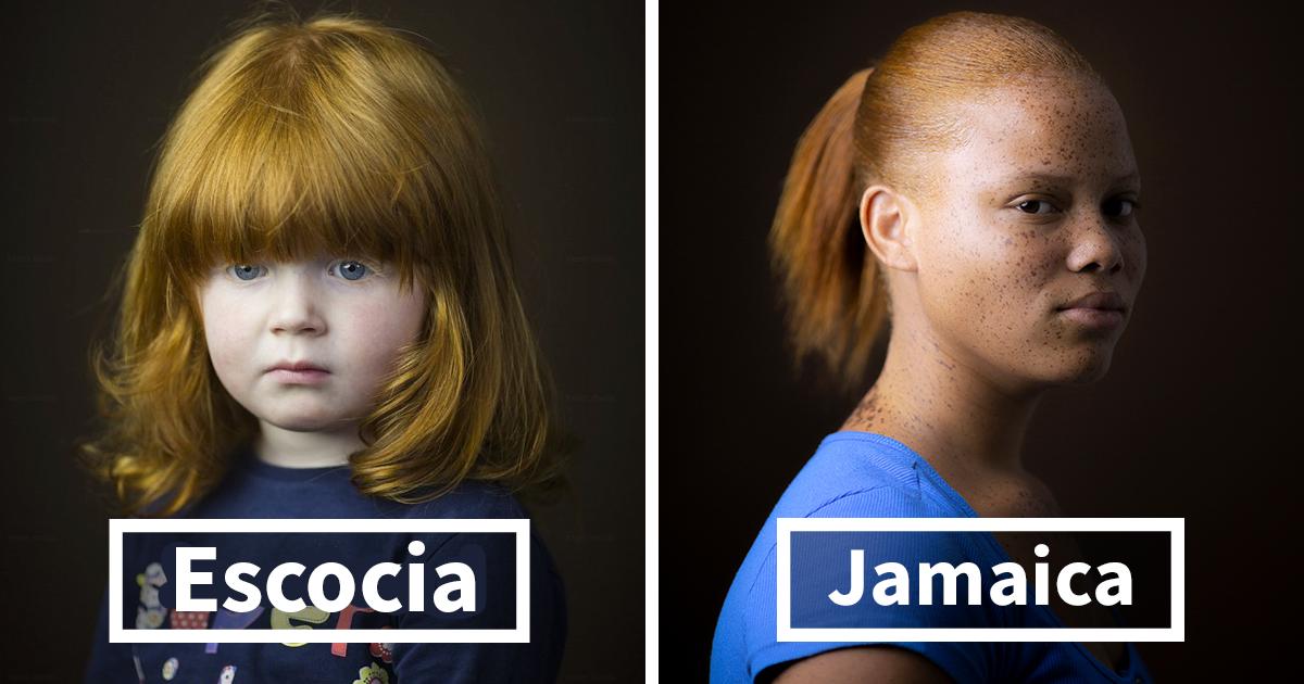 Este fotógrafo lleva 7 años retratando a pelirrojos de todo el mundo, y afirma que no se trata solo del pelo (15 fotos)