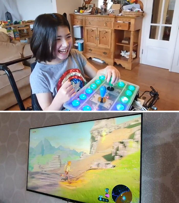 Este Padre Le Hizo Un Mando Especial A Su Hija Discapacitada Para Que Pudiera Jugar Al Zelda
