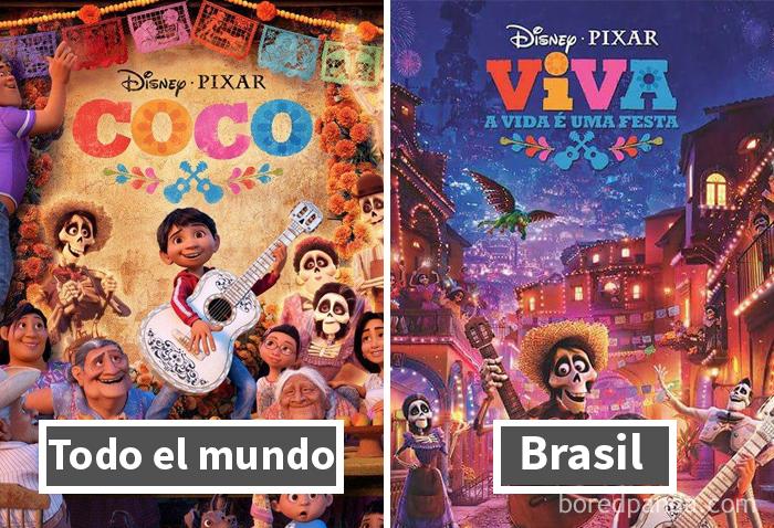 Coco: Título Distinto En Brasil
