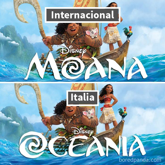 Moana / Vaiana: En Italia Fue Oceania A Causa De Una Actriz Porno Con Ese Nombre